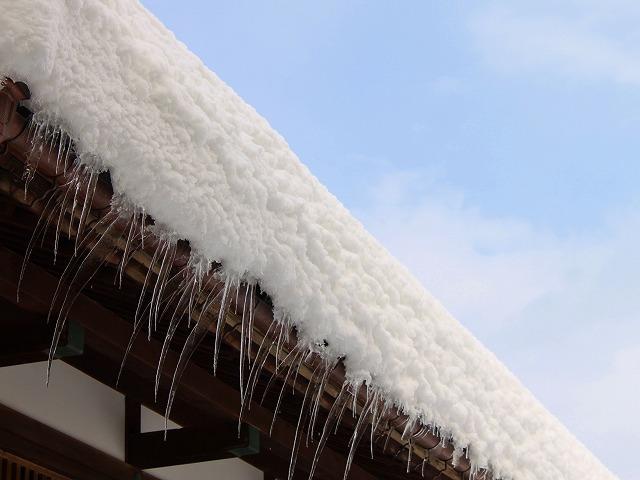 りんや大雪 氷柱つらら